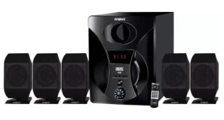 (Hurry)Flipkart - Buy Envent ACE ET-SP51170 Home Audio Speaker (Black, 5.1 Channel) for Rs.1099(68% off)