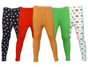 Little Stars Legging For Girls (Multicolor Pack of 5) at rs.601
