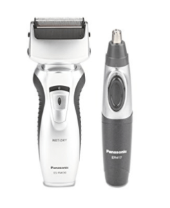 Panasonic ES-RW30CM Rechargeable Shaver for Men (BlackSilver) at rs.3,389