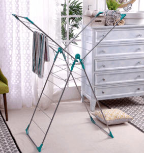Pepperfry- Buy Peng Essentials Steel White & Green Naples Cloth Drying Stand at just Rs 999 or 825 for new users