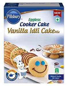 Amazon-Pillsbury Vanilla Idli Cake Mix, 120g at Rs.60 Only
