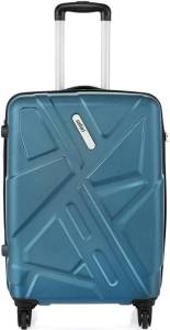 Snapdeal- Buy Safari Traffik-Anti Scratch Teal 4 Wheel Hard Luggage-(Medium,61-69Cm) at just Rs 2265 only