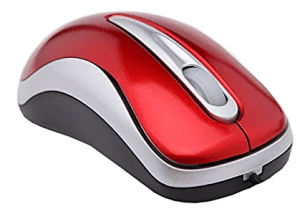 TEXET M3BS-RD 800-DPI 3 Buttons USB Wired Optical Mouse in Red for Desktop PC|Laptop|Notebook