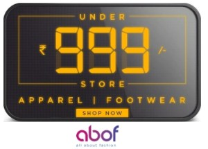 ABOF Rs. 999 Store – Buy Apparels & Footwear's Under Rs. 999