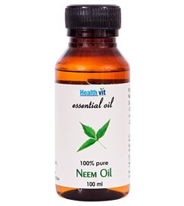 Amazon- Buy Healthvit Neem Essential Oil - 100 ml for Rs 120