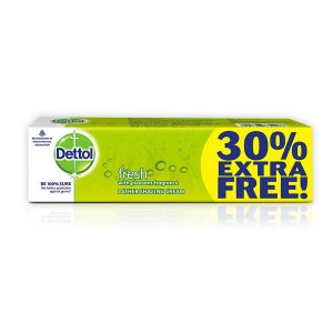 Amazon - Buy Dettol lather shaving cream 60g+18gfree=78g at Rs 49 only