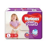 Amazon- Buy Huggies Wonder Pants Large Size Diapers (50 Count)