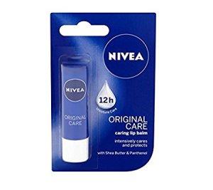 Amazon Nivea Lip Balm Original Care,4.8 g