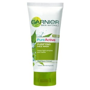 Amazon Pantry- Buy Garnier Skin Naturals Pure Active Neem Face Wash, 150g at Rs 55 only