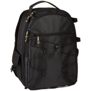 AmazonBasics Backpack for Cameras and Accessories - Black