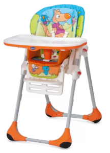 Chicco New Polly 2 in 1 Highchair Wood Friends at rs.5,760