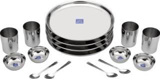 Flipkart Bhalaria Pack of 16 Dinner Set (Stainless Steel)