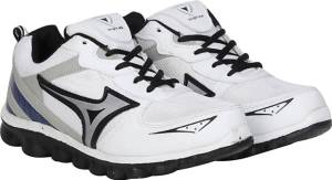 Flipkart- Buy Knight Ace Sports Running Shoes, Cricket Shoes, Cycling Shoes, Walking Shoes (White) at Rs 244 only