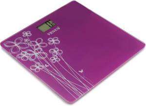 Flipkart - Buy Venus Digital Glass Weighing Scale (Purple) at Rs 799 only