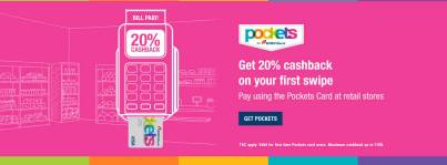 ICICI pockets debit card cashback
