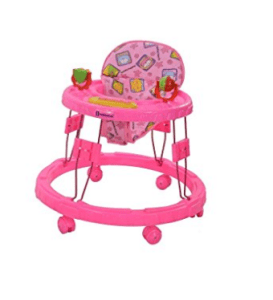 Mothertouch Chikoo Round Walker Dx (Pink) at rs.490