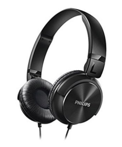 Philips SHL3060BK/00 On-Ear DJ Style Monitoring Headphone (Black) at Rs.549 only