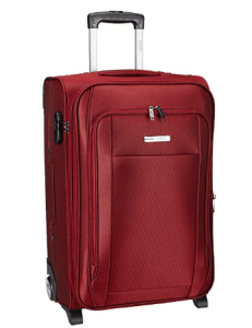 Safari Polyester Maroon Soft Sided Suitcase (VOYAGER 2W 65) at rs.2,526