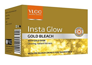 VLCC Insta Glow Gold Bleach, 60gm at rs.60