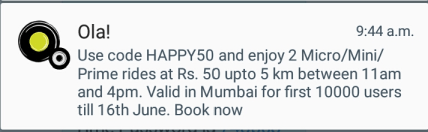 ola happy50 mumbai
