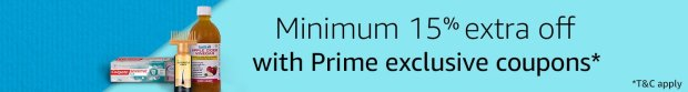(MUST BUY) Amazon Steal- Get Minimum 15% Extra Off with Prime Exclusive Coupons + Suggestions Added
