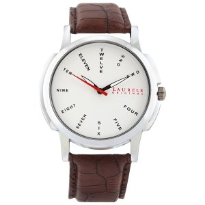 (HURRY) Amazon- Buy Laurels Maestro 2 Analog Silver Dial Men's Watch ( Lo-Mas-202) for Rs 254 only