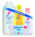 Amazon- Buy Johnson's Baby Bathing Combo