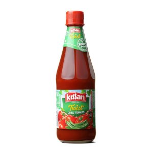 Amazon - Buy Kissan Twist Chili Tomato Bottle, 500g at Rs 74 only