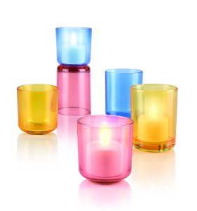 hilips 50045 0.2-Watt LED Candle Light (Pink) for Rs 399