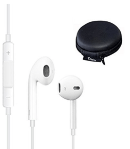 Secro Headphones Earphones Earbuds With Mic & Remote Control at rs.290