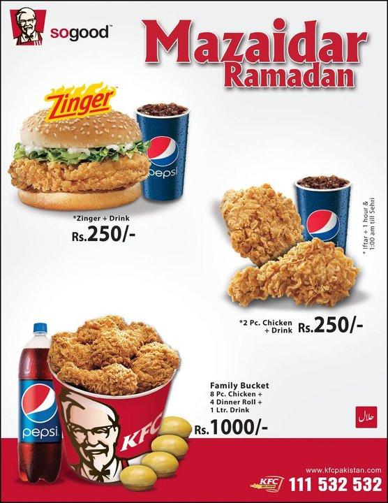 Kfc deals 2018 karachi