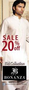 Bonanza Garments Pakistan Sale 2013 on Eid Collection