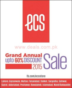 ECS Shoes Sale August 2015
