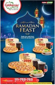 California Pizza Karachi Iftar Deals 20164 Ramadan