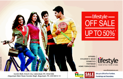 Off Sale - Upto 50% @ Lifestyle Hyderabad. | DealsHut