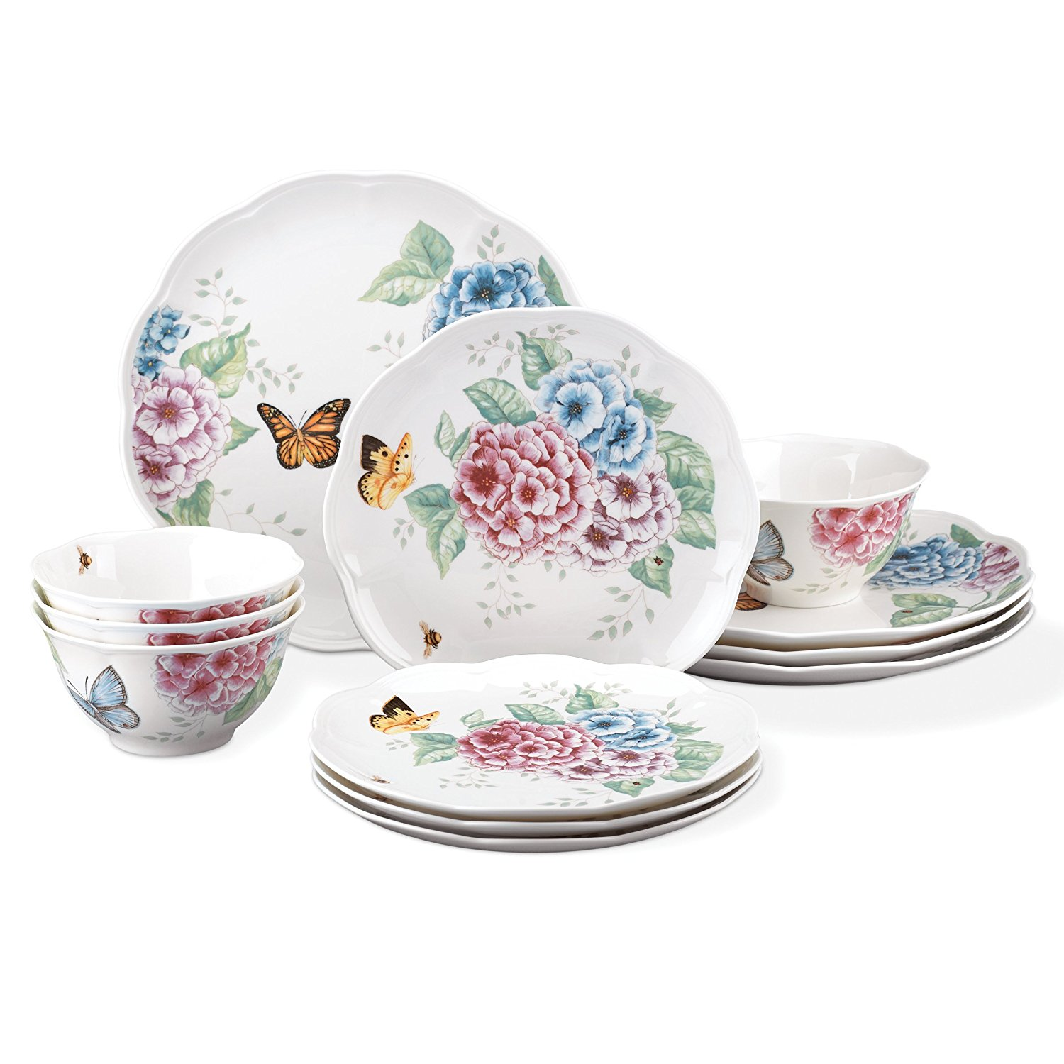 Cheery Just Freeshipping Dinnerware Hot Deals Fine China Tea Sets Fine China Tea Sets Uk Lenox Piece Butterfly Meadow Hydrangea Set houzz-02 Fine China Sets