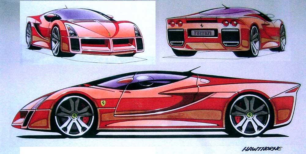 League of Retired Automotive Designers\u2014Ferrari Design Exhibit