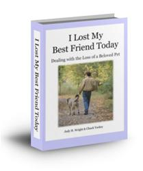 I Lost My Best Friend Today book (pet)