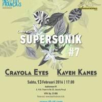 CRAYOLA EYES & KAVEH KANES di DRS Anniversary.
