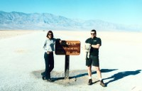 FURNACE CREEK VISITOR CENTER AREA  TIME IN DEATH VALLEY