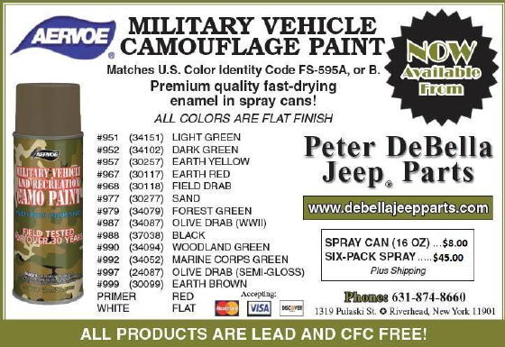 Miscellaneous Catalog - Willys MB Ford GPW Jeep 1/4 Ton Truck G503