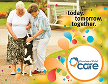 Advertising aged care communities.