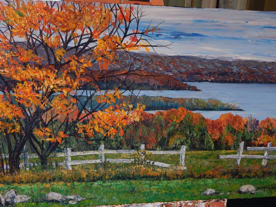 Autumn Lake – SOLD