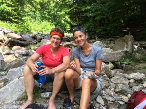 Lunch Break: Hiking the Long Trail meant Living Outdoors for 25 days.