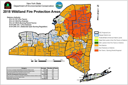 Wildfire in New York State - NYS Dept of Environmental Conservation