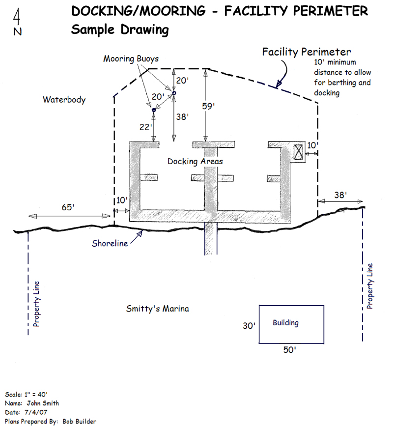 Sample Project Plan for a Docking/Mooring Facility - NYS Dept of