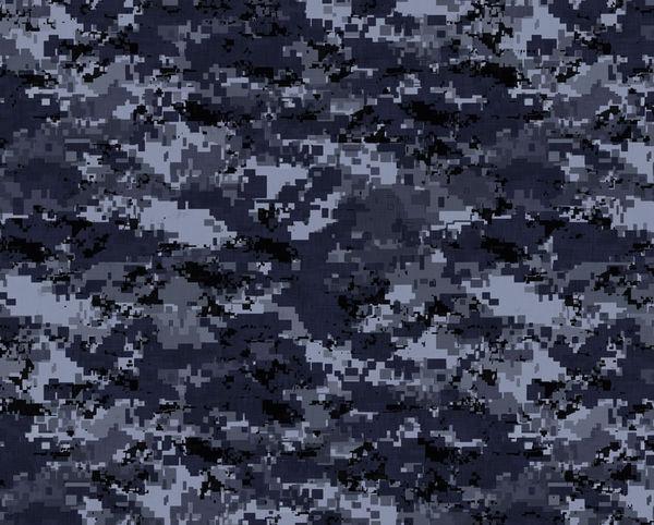Girl In Woods Wallpaper Digital Navy Camo By Camo Decalgirl
