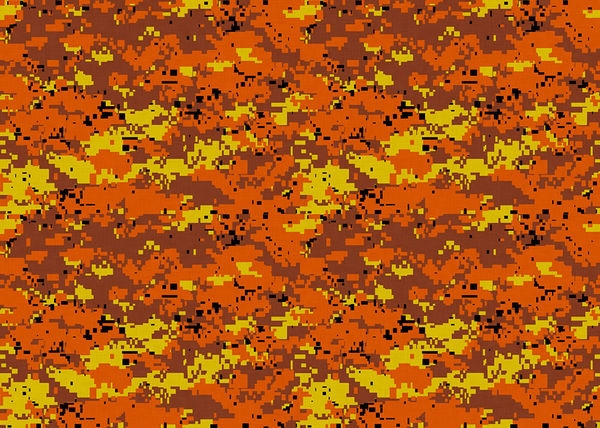 Fall Flowers Iphone Wallpaper Digital Orange Camo By Camo Decalgirl
