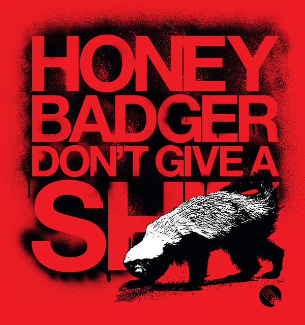 Get Live Wallpaper For Iphone Don T Give A By Randall S Honey Badger Decalgirl