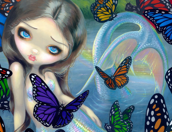Create Your Own Iphone Wallpaper Mermaid By Jasmine Becket Griffith Decalgirl